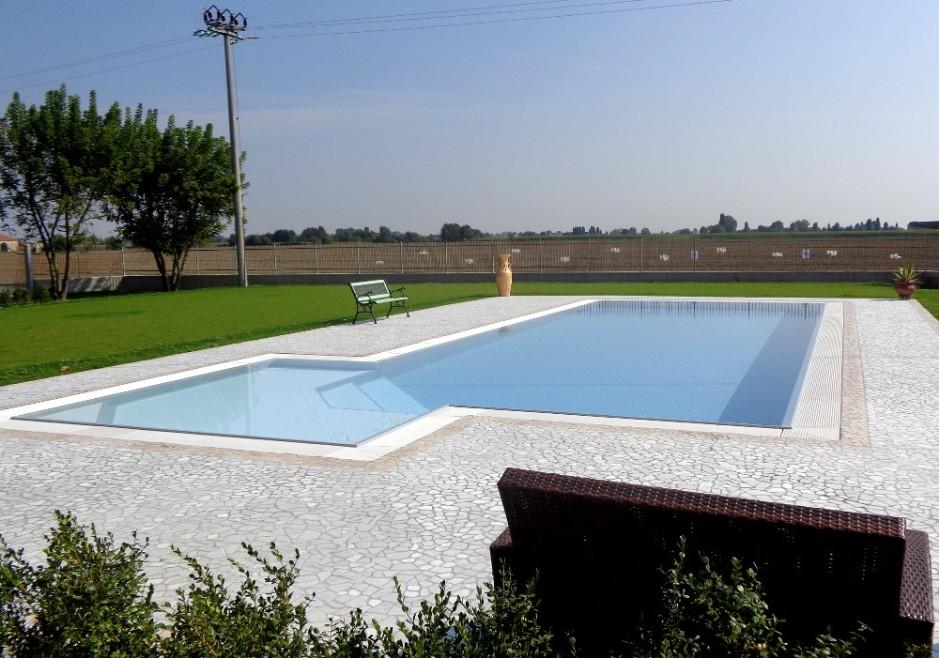 Pavimento piscina in palladiana di marmo 16 palladiana marmo - Piscine di rosa ...