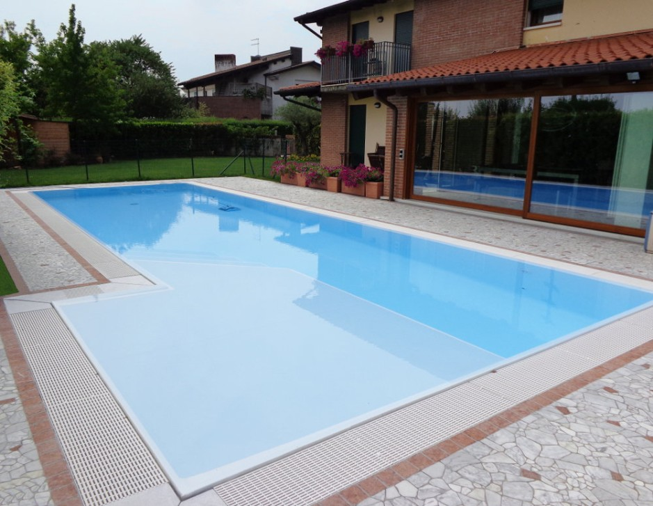 Pavimento Rosso E Bianco : Pavimento piscina in palladiana di marmo palladiana marmo