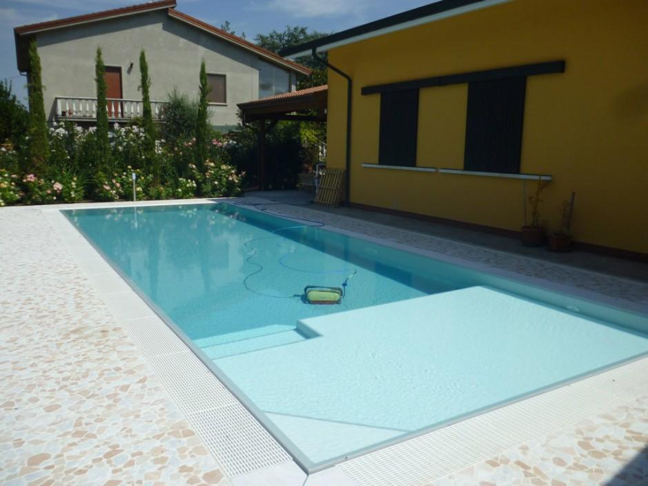 Pavimento piscina in palladiana di marmo 30 palladiana marmo - Piscine di rosa ...