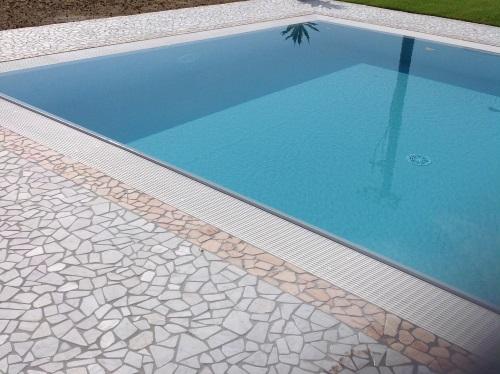 Pavimento piscina in palladiana di marmo 12 palladiana marmo - Piscine di rosa ...
